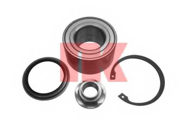 Комплект подшипника ступицы колеса NK 753211 - изображение