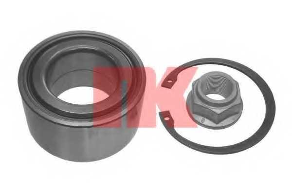 Комплект подшипника ступицы колеса NK 753322 - изображение