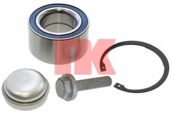 Комплект подшипника ступицы колеса NK 753334 - изображение