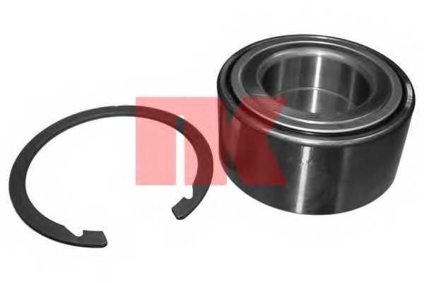 Комплект подшипника ступицы колеса NK 753407 - изображение
