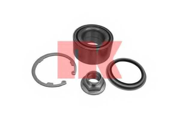 Комплект подшипника ступицы колеса NK 753502 - изображение