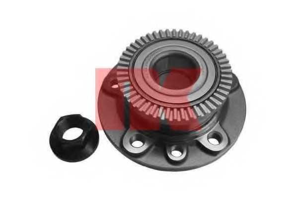 Комплект подшипника ступицы колеса NK 753613 - изображение