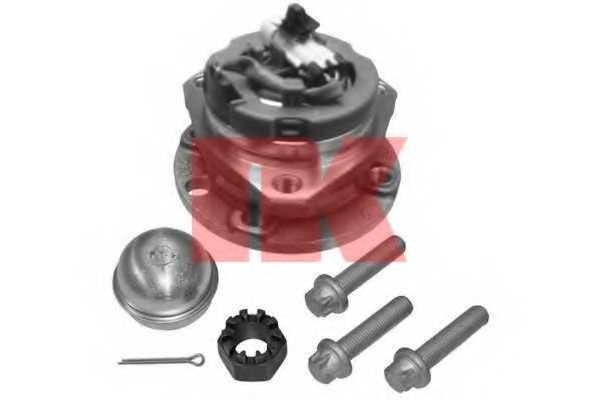 Комплект подшипника ступицы колеса NK 753621 - изображение