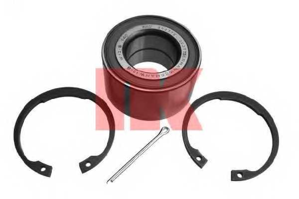 Комплект подшипника ступицы колеса NK 753626 - изображение
