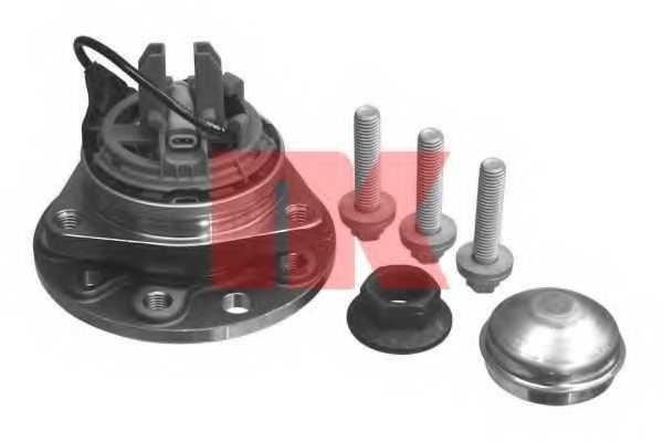 Комплект подшипника ступицы колеса NK 753630 - изображение