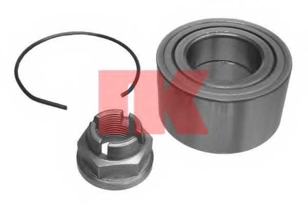 Комплект подшипника ступицы колеса NK 753909 - изображение