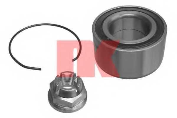 Комплект подшипника ступицы колеса NK 753910 - изображение