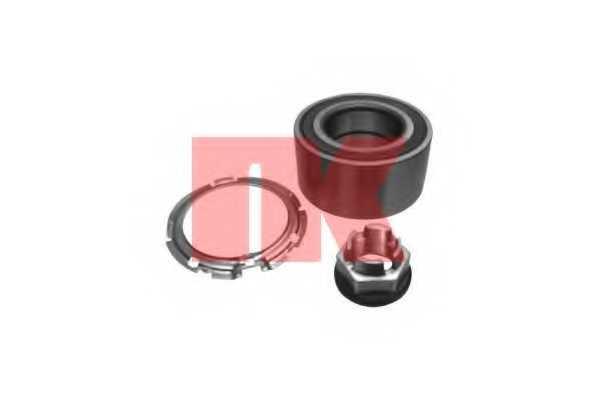 Комплект подшипника ступицы колеса NK 753923 - изображение