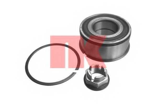 Комплект подшипника ступицы колеса NK 753924 - изображение