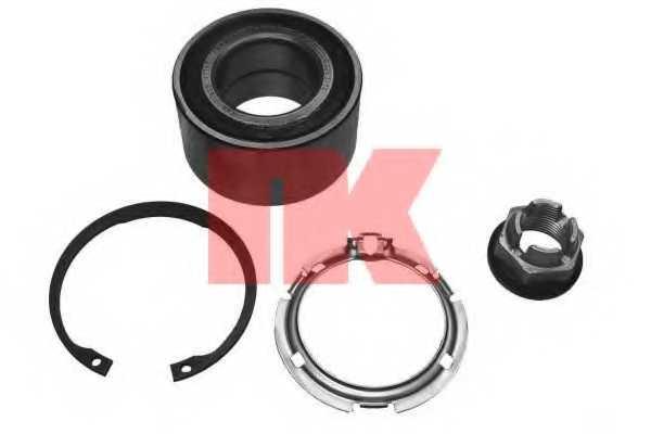 Комплект подшипника ступицы колеса NK 753926 - изображение