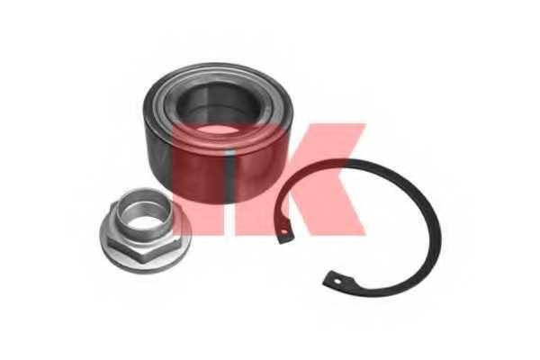 Комплект подшипника ступицы колеса NK 754005 - изображение