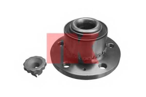 Комплект подшипника ступицы колеса NK 754307 - изображение