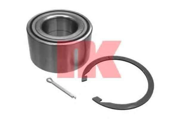Комплект подшипника ступицы колеса NK 754512 - изображение