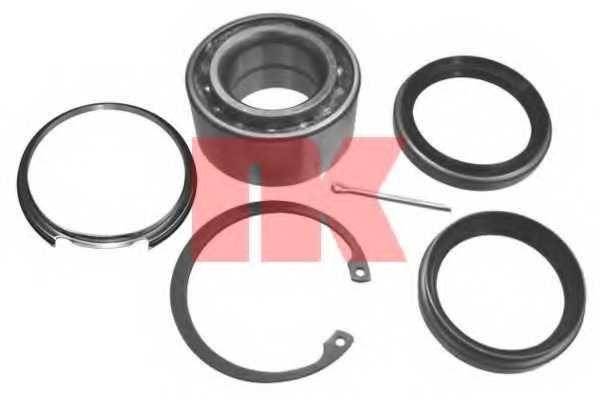 Комплект подшипника ступицы колеса NK 754520 - изображение