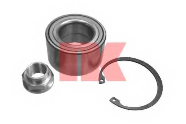 Комплект подшипника ступицы колеса NK 754534 - изображение