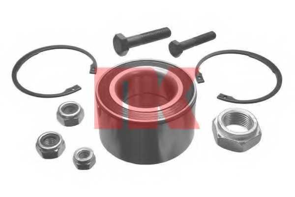 Комплект подшипника ступицы колеса NK 754703 - изображение