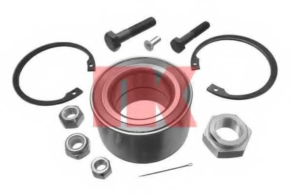 Комплект подшипника ступицы колеса NK 754714 - изображение
