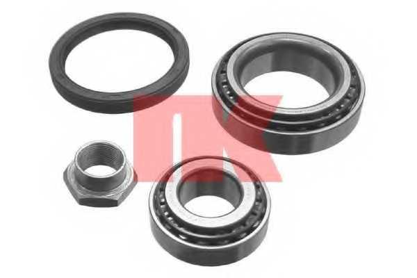 Комплект подшипника ступицы колеса NK 754720 - изображение