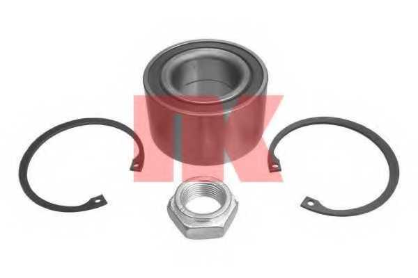 Комплект подшипника ступицы колеса NK 754721 - изображение