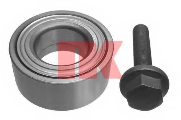 Комплект подшипника ступицы колеса NK 754726 - изображение