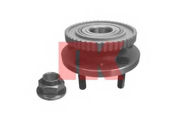 Комплект подшипника ступицы колеса NK 754808 - изображение