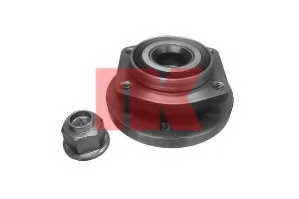 Комплект подшипника ступицы колеса NK 754811 - изображение
