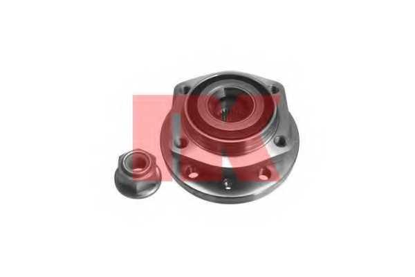 Комплект подшипника ступицы колеса NK 754812 - изображение