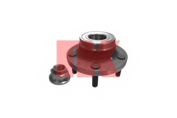 Комплект подшипника ступицы колеса NK 754813 - изображение