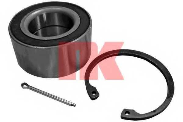 Комплект подшипника ступицы колеса NK 755002 - изображение
