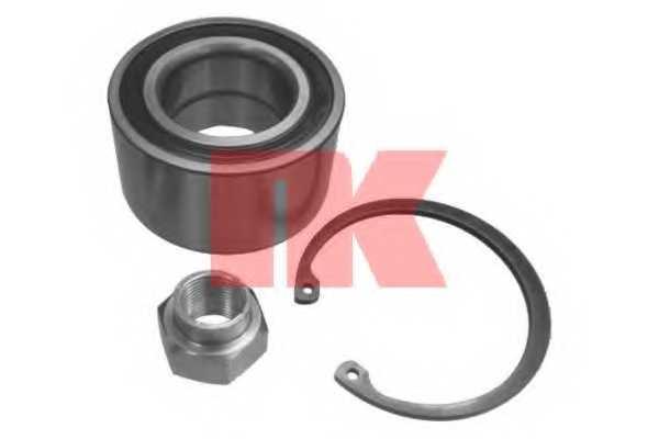 Комплект подшипника ступицы колеса NK 755004 - изображение