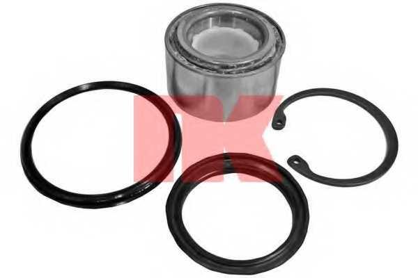 Комплект подшипника ступицы колеса NK 755205 - изображение