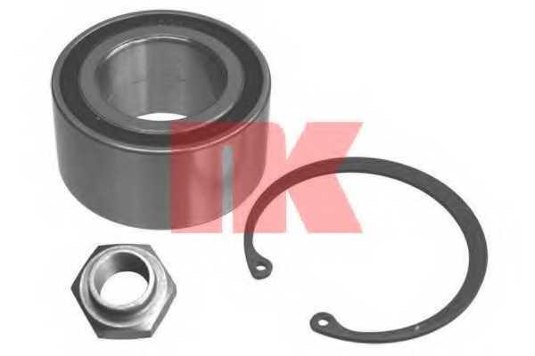 Комплект подшипника ступицы колеса NK 755206 - изображение