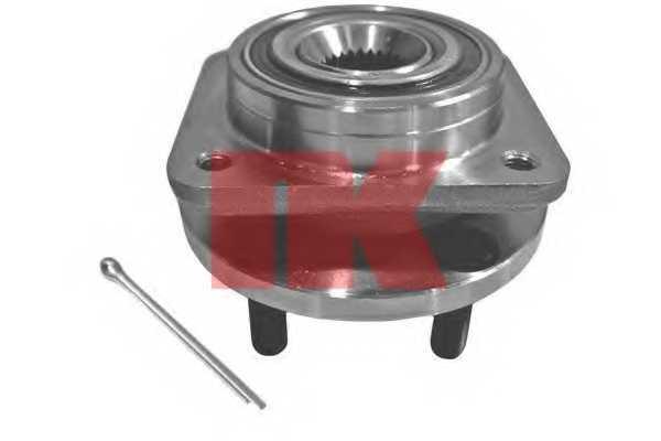 Комплект подшипника ступицы колеса NK 759303 - изображение