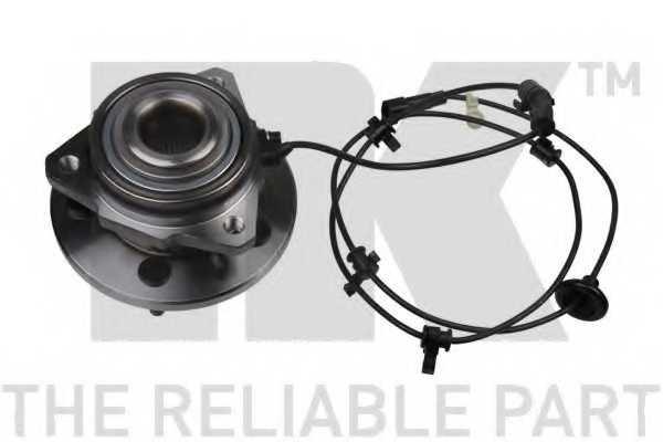 Комплект подшипника ступицы колеса NK 759312 - изображение