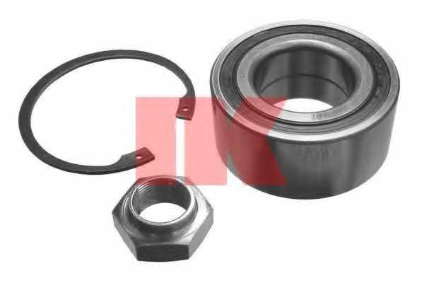 Комплект подшипника ступицы колеса NK 759912 - изображение