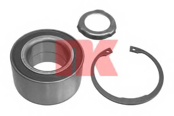 Комплект подшипника ступицы колеса NK 761509 - изображение
