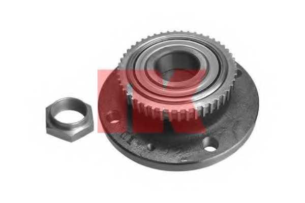 Комплект подшипника ступицы колеса NK 761914 - изображение