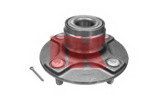 Комплект подшипника ступицы колеса NK 762218 - изображение