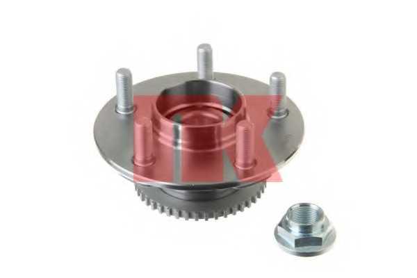 Комплект подшипника ступицы колеса NK 762229 - изображение 1