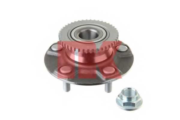 Комплект подшипника ступицы колеса NK 762229 - изображение
