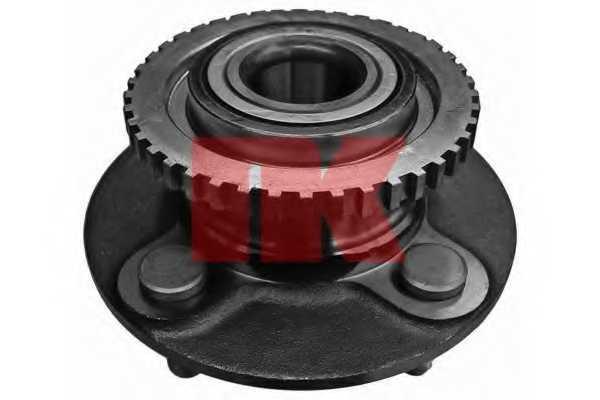 Комплект подшипника ступицы колеса NK 762237 - изображение