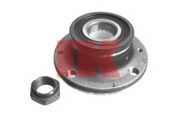 Комплект подшипника ступицы колеса NK 762325 - изображение