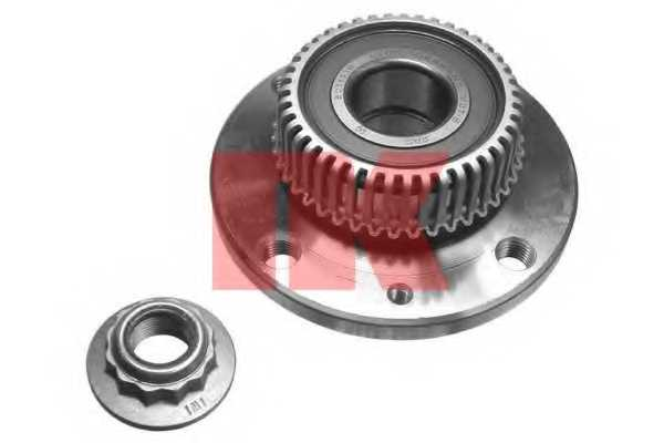 Комплект подшипника ступицы колеса NK 762331 - изображение