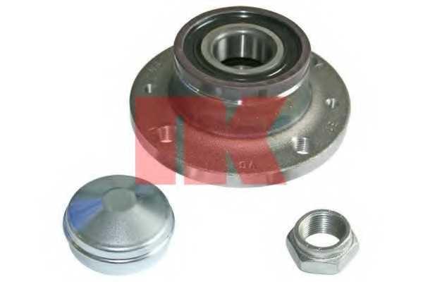 Комплект подшипника ступицы колеса NK 762335 - изображение