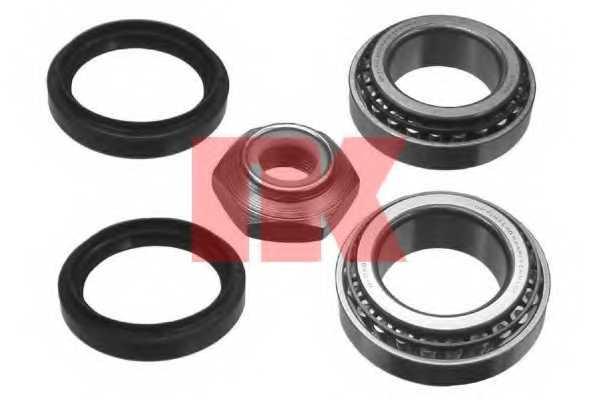 Комплект подшипника ступицы колеса NK 762509 - изображение