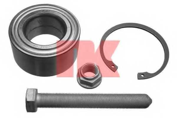 Комплект подшипника ступицы колеса NK 762527 - изображение