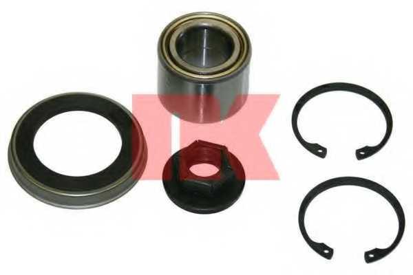 Комплект подшипника ступицы колеса NK 762529 - изображение