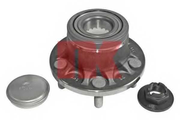 Комплект подшипника ступицы колеса NK 762546 - изображение