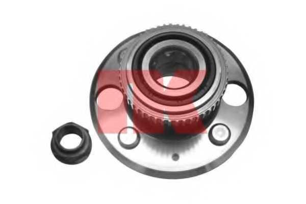 Комплект подшипника ступицы колеса NK 762609 - изображение