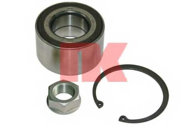 Комплект подшипника ступицы колеса NK 762622 - изображение
